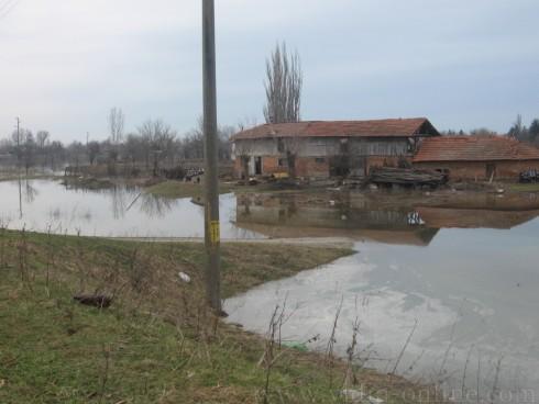 дигата по река Тимок край Брегово