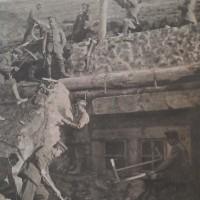 Бдинци-телеграфисти строят централна станция на фронта