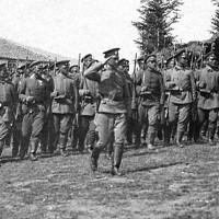 Тържествен марш пред знамето на полка 1917г