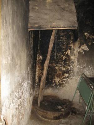 Огнище в турлашка къща