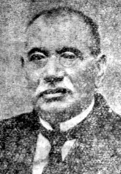 Димитър Мишев в Лозана, Швейцария, през 1919г.