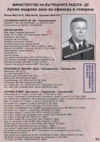 ГЕН.-ЛЕЙТ. ИВАН ГЕОРГИЕВ ДИМИТРОВ