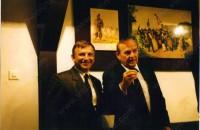 С тогавашния Президент на МФВТ Готфрид Шьодл