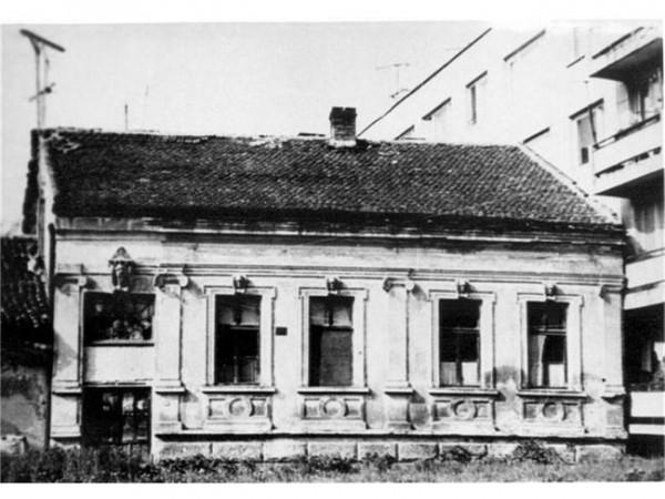 Родната къща на Жул Паскин във Видин, която е разрушена през 1975 г. СНИМКИ: ЛИЧЕН АРХИВ И АВТОРЪТ