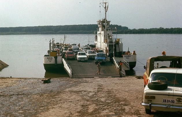 Ферибот Видин - Калафат 1970г