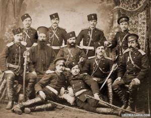 Офицери, участници във войната