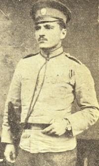 Фелдфебел Тодор Николов от с. Гюргич, Белоградчишко, 12-а рора от 15-и пехотен Ломски полк