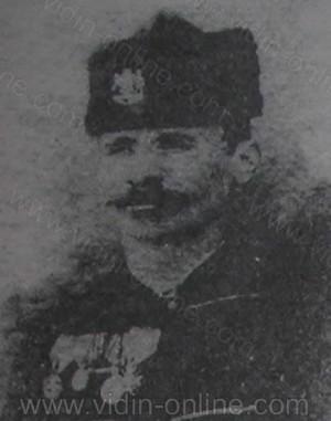 Снимка на Ботевия четник и опълченец Тодор Илиев Попов -Върбовлянина от с. Върбово, Белоградчишко