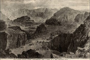 Кариерата Rubislaw (The Illustrated London News, 1862)