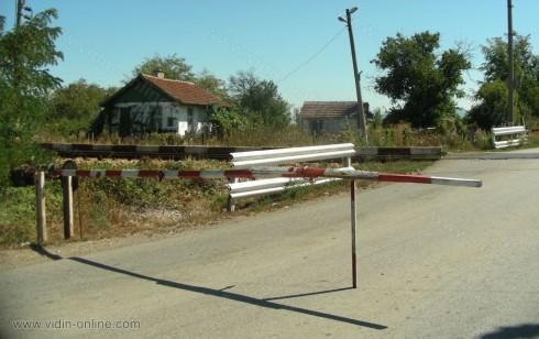 Около десет са жп-прелезите в община Димово, половината са охраняеми