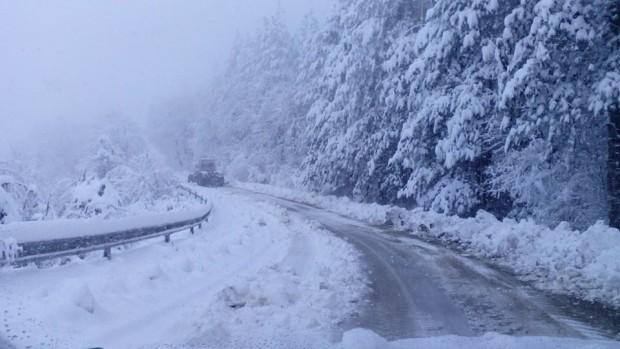 20 сантиметра достигна снежната покривка в Белоградчик през изминалата нощ