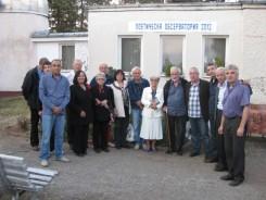 Любомир Левчев рецитира свои стихове край обсерваторията в Белоградчик