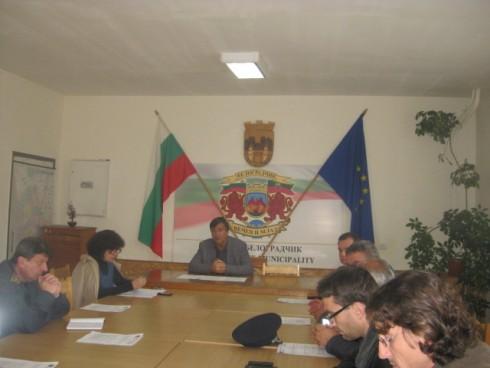 Заседание на Общинския кризисен щаб в Белоградчик