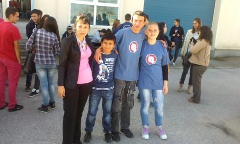 Доброволците от Белоградчик на гости на Митница-Видин