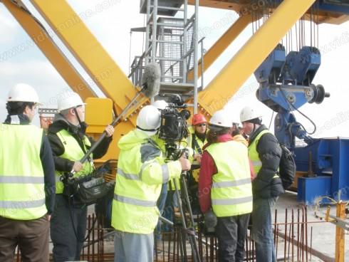 Discovery Channel снима филм за Дунав мост Видин-Калафат