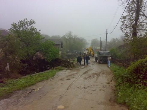 Дъждът, който продължава да вали може да предизвика нови наводнения в Плешивец