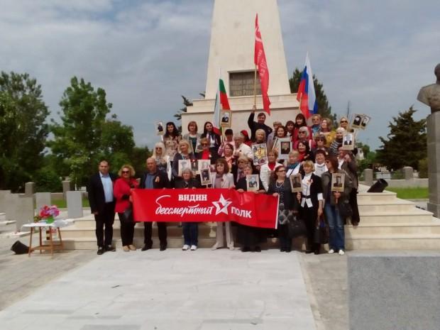 Видинчани отбелязаха 72 години от победата над фашизма и края на Втората световна война на Руското военно гробище