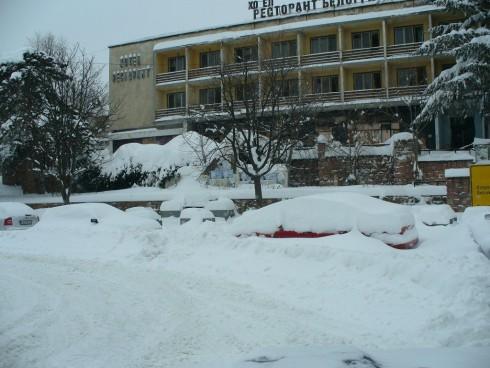 Дебелината на снежната покривка в Белоградчик достигна 60 см