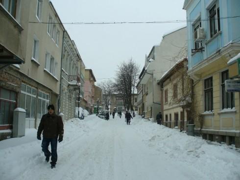 Белоградчик - сняг