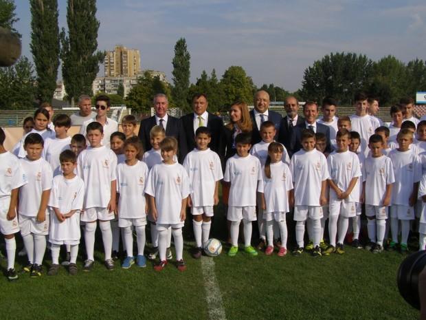 Емилио Бутрагеньо, футболист от Реал Мадрид : Министър Николина Ангелкова направи много за да се открие спортното училище за социална интеграция във Видин