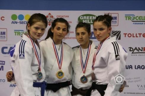 Цвети Цветанова с медал от Европейската купа по Джудо