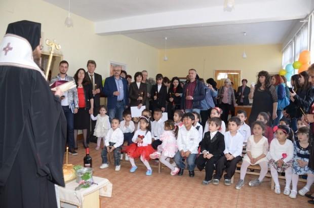 "Откриха обновената детска градина ""Мир"" в град Дунавци"