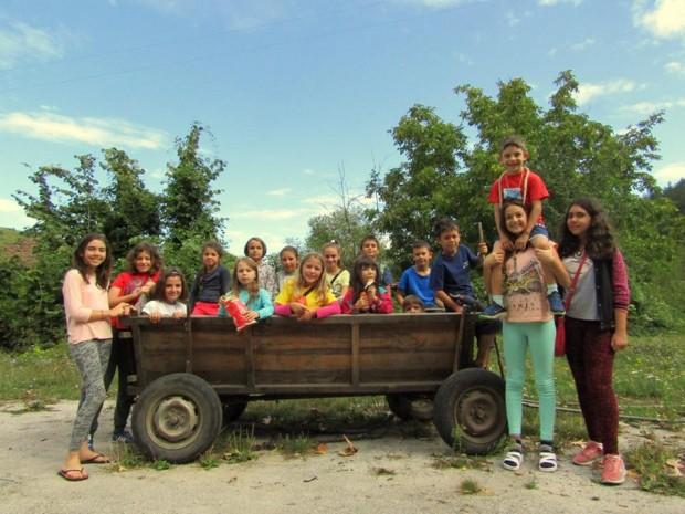 При изключителен интерес преминават детските лагери в с. Стакевци, община Белоградчик