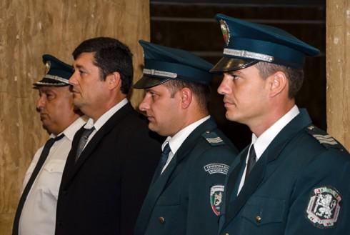 Четирима гранични полицаи бяха отличени за проявен професионализъм и постигнати високи резултати
