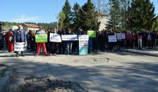Приключи протестът, блокирал главен път Е-79 край Димово