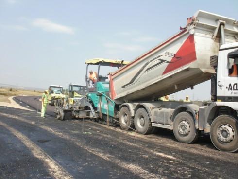 Асфалтират нов участък от прилежащата инфраструктура към Дунав мост Видин-Калафат