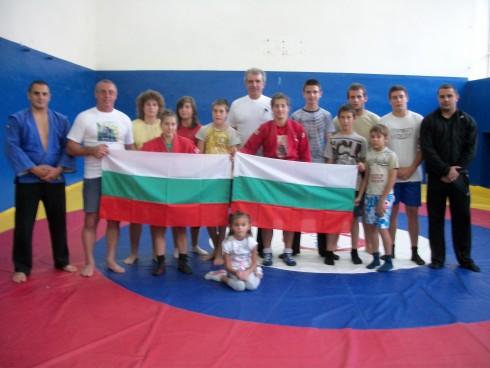 Владимир Тошев пожела успех на видинските самбисти на СП по самбо