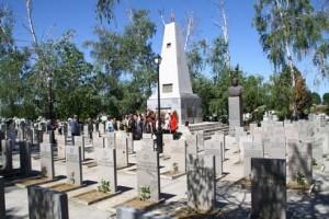 Руското военно гробище край Видин