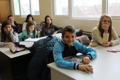 """36 ученици от ПМГ """"Екзарх Антим І"""" взеха участие в национално състезание по български език и литература"""