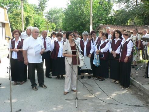 Заместник-областният управител на Видин Елка Георгиева присъства на откриването на клуб за възрастни хора в село Раброво