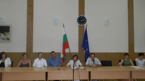 Заместник-областният управител Елка Георгиева представи екологичното развитие на Видинска област пред ученици от област Силезия, Полша
