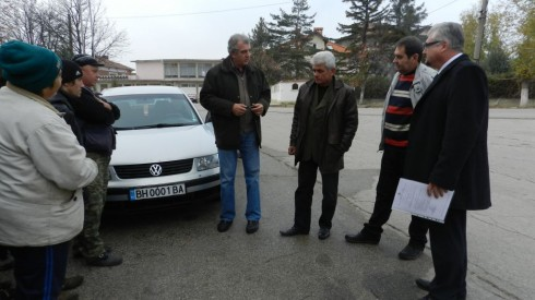 лек автомобил за безвъзмездно ползване на община Макреш за нуждите на кметство с. Раковица