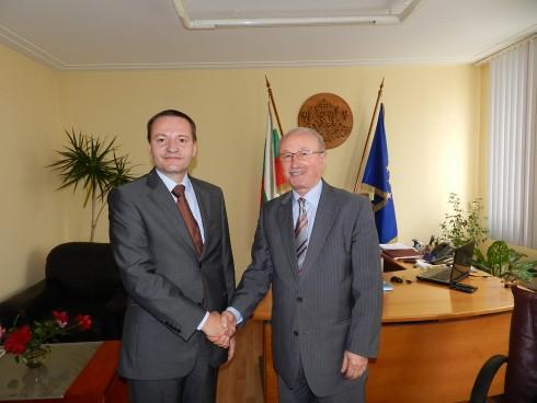 Областният управител на Видин и посланикът на Румъния у нас обсъдиха мерки за активно сътрудничество през новия програмен период 2014-2020