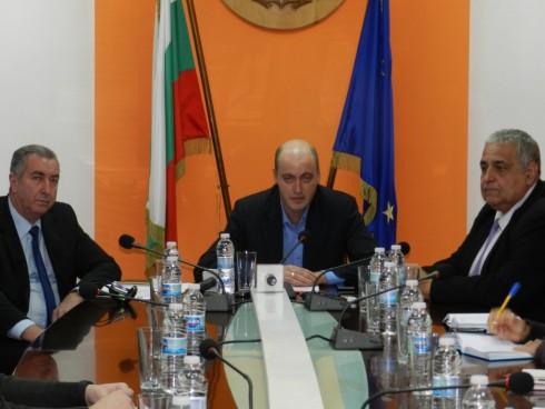 Областният управител на Видин представи двамата си заместници – Любомир Низамов и Огнян Ценков