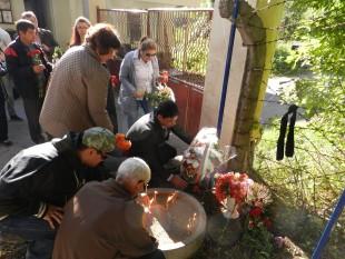 Областна администрация Видин почете паметта на жертвите на производствения инцидент в завода за боеприпаси в с. Горни Лом