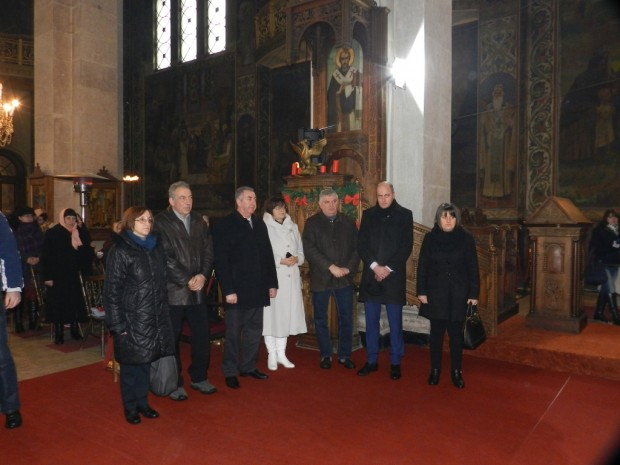 Ръководството на Областна администрация-Видин  почете християнския празник Богоявление в дунавския град