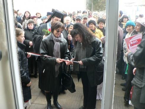 Заместник-областният управител Елка Георгиева откри кооперативен магазин в село Раковица, община Макреш