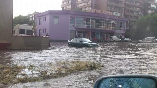 Прекъсване на електрозахранването на помпените станции е причината за наводнението, образувало се във Видин през вчерашния ден