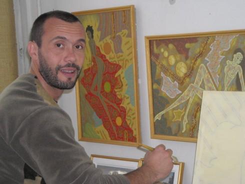 Видинчанин в представителна авторитетна изложба в меката на изкуството