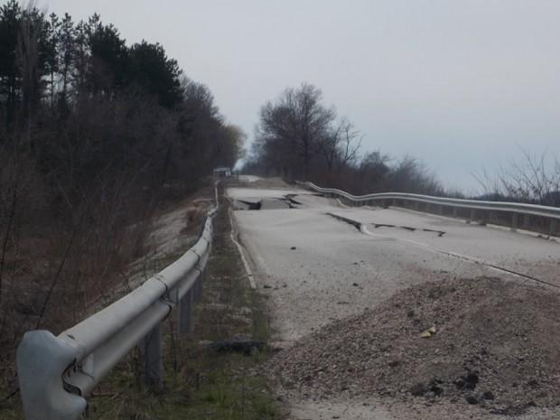 Утре се отварят офертите за технически проект за укрепване на участъка при 10-ти км на път II-14 Видин - Кула - Връшка чука