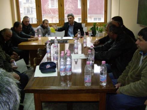 Работна среща с представителите на всички футболни клубове в област Видин