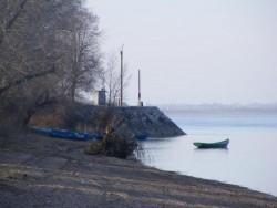 Нивото на река Дунав спадна в началото на българския участък