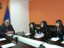 """Три ученички от Професионална гимназия """"Проф. д-р Асен Златаров"""" поеха управлението на Областна администрация – Видин за един ден"""