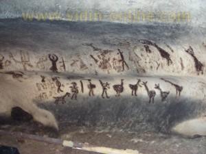 Рисунки в пещера Магурата