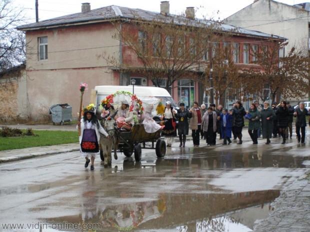 Традиционно във видинското Ново село отбелязват Бабинден