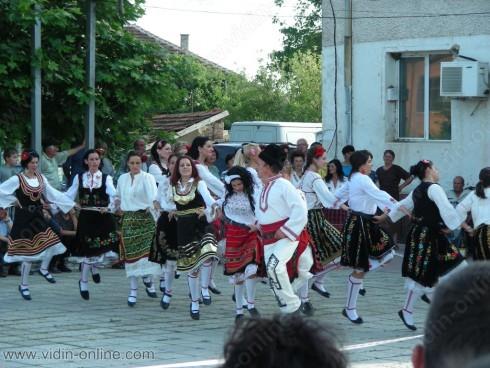 Самодейният танцов състав при читалище Просвета – село Покрайна